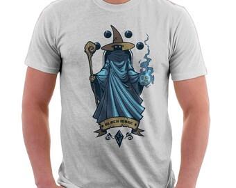 Video Game Shirt - Final Fantasy Shirt - Black Mage | T-shirt for Women Men | Video Games | Pop Culture | Graphic Tee | Nerd Shirt | Art