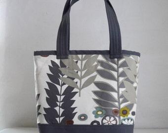 Ojai Oatmeal Fabric Tote Bag