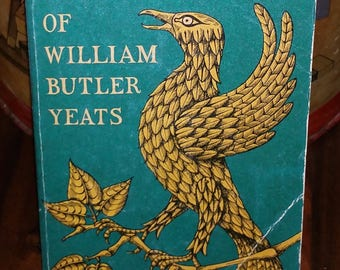 The Autobiography Of William Butler Yeats Vintage Paperback Book