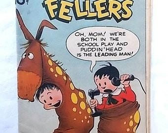 Vintage 1948 Reg'lar Fellers Comic Book No. 6