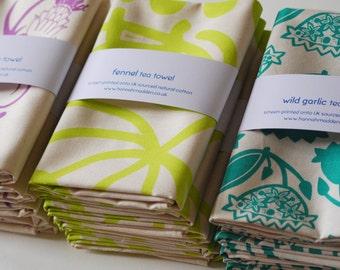 Kitchen Garden Collection 3 Mixed Tea Towels