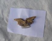 God Bless America Pin, WWII era, 1940s
