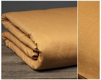 Linen Duvet Cover Light Brown XL Super King Queen Melange Linen Cotton Bedding Comforter Covers Twin Full Double Single Bed Custom Sizes
