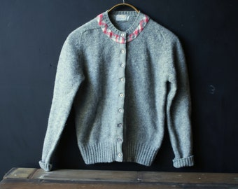 Vintage Wool Cardigan Sweater Breamer Vintage From Nowvintage On Etsy