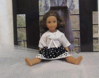 American Girl 6 inch mini doll clothes skirt shirt skirt