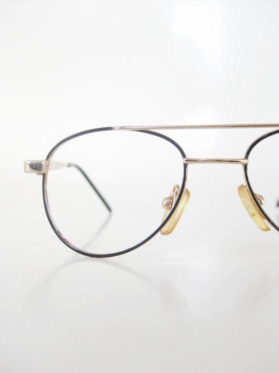 Kids Wire Rim Aviator Eyeglasses Vintage 1980s Deadstock
