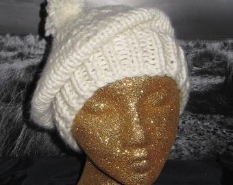 50% OFF SALE Instant Digital File pdf download madmonkeyknits Superfast Tam O'Shanter Hat pdf knitting pattern