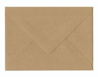 Natural Kraft A2 Envelopes 25/Pk