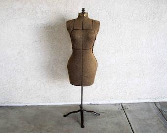 Vintage Dress Form. Size: Small - Medium. Circa 1940's.