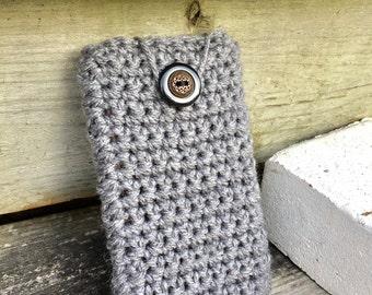 Grey Skies Crochet Gadget Cozy