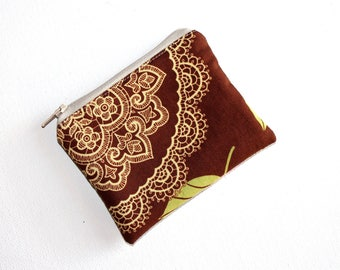 Mini Coin Purse in Quality Amy Butler Fabric