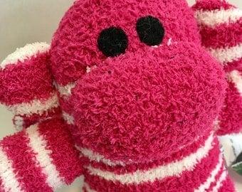 Abbie the Baby Friendly Sock Monkey