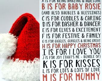 New Mummy Christmas Card
