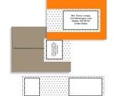 Envelope Wrap in A2 Swiss Dot