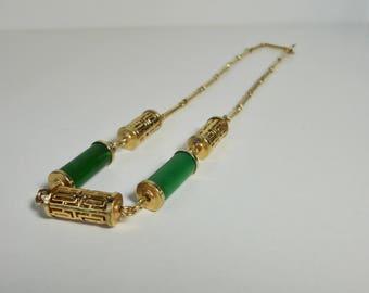 1978 Sarah Coventry  Oriental Lanterns Necklace.