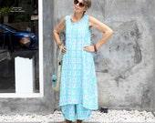 Wayan Sleeveless Swing Dress, Resort, Tropical, Cruise, Rayon, Bali Batik, XS-L