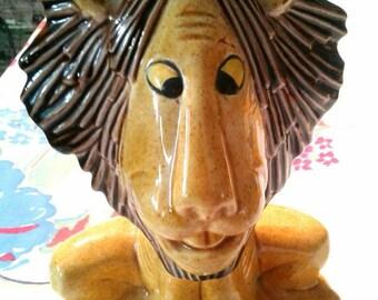 Tawny Scrawny Lion Figurine, 1975, RARE