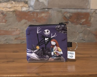 Nightmare Before Christmas Mini Wallet with ID Holder