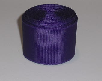Purple 1.5 inch Solid Grosgrain Ribbon 10 Yards