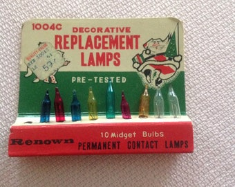 Decorative Replacement Midget Bulbs 1004C from Renown (0-205)