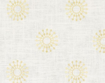 Duralee ramsden, embroidered yellow drapes, Designer drapes, rod pocket curtain panels, drapes, lined drapes