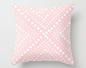 OUTDOOR Throw Pillow - Blush Pink Outdoor Pillow - Modern Geometric Patio Cushion - Quartz Pink Outdoor Pillow 16 18 20 inch Outside