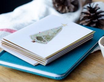 Christmas Card - Christmas Tree Greeting Card