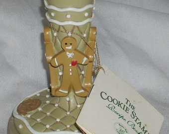 Brown Bag Cookie Art Gingerbread Stamp Mold with Recipes