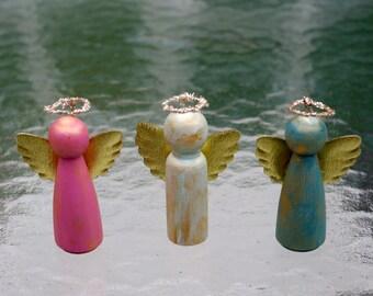 Set of Angel Christmas Ornaments Decorations