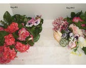 Assorted Floral Bag(s)/ 2 Choices to pick from*/ Bag #11, #43/ Craft Supplies*