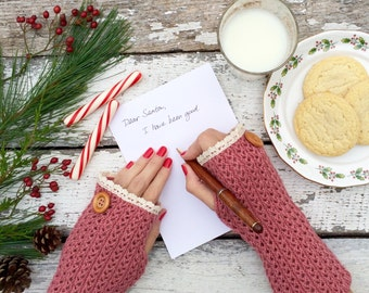 Fingerless Gloves, Knit Fingerless Gloves, Pink Fingerless Gloves, Half Finger Gloves, Winter Gloves, Mittens, Lace Gloves, Arm Warmers