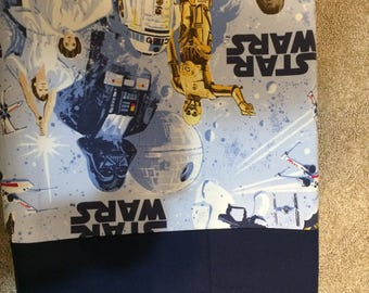 Starwars  navy blue changing pad cover