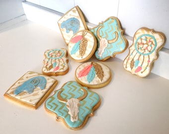 Tribal Southwestern Theme cookies