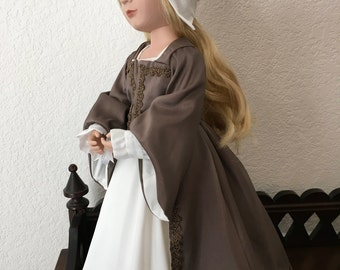 Medieval Style outfit for 16 inch Doll