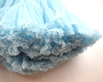 Vintage Blue Sam's Petticoat Tutu