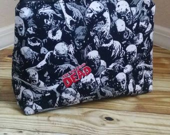Zombie padded makeup travel case *Ready to ship*