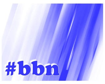 Big Blue Nation note cards digital download A4 sized bbn