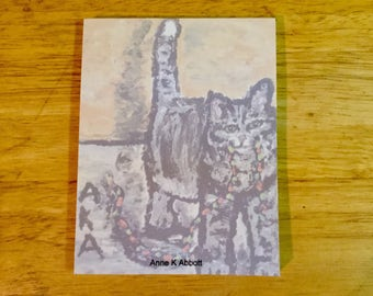 Buy one  of my Hershey note pads  and I'll donate one dollar to the Winn Feline Foundation