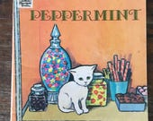 Peppermint by Dorothy Grider, Illustrated by Raymond Burns, Vintage Children's Book, 1950s  Children's Book, Small Books