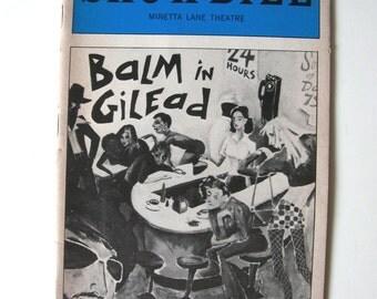 November 1984 Showbill - Balm in Gilead - Minetta Lane Theatre