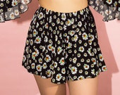 Daisy High Waist Relaxed Tap Shorts Limited Edition XS S M L XL XXL