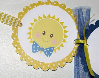 You Are My Sunshine Baby Shower Banner - BOY or GIRL