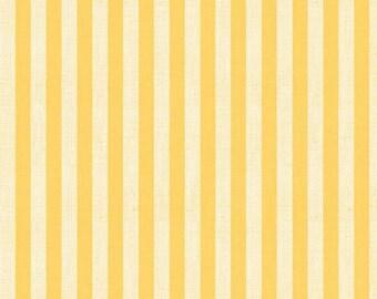 Wilmington Prints - Follow the Sun - Stripes - Cream/Yellow - Fabric by the Yard 86433-115