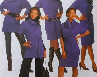 Dress and Tunic Sewing Pattern Butterick B5247 Sizes 8-14