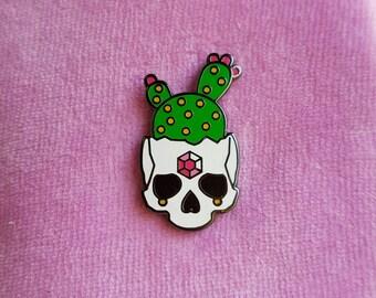 Cactus Skull - Hard Enamel Pin