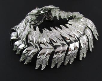 Coro Pegasus Bracelet, Silver Bracelet, Statement Bracelet, Wide Bracelet, Coro Bracelet