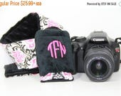 Personalized Camera Strap Cover Set Canon Nikon
