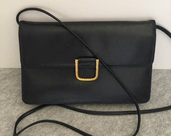 Vintage GIVENCHY Navy Blue Evening/Crossbody Bag