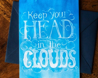 Head in the Clouds - Card