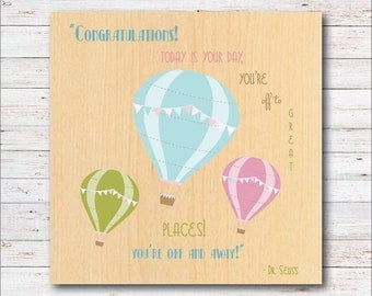 Dream Big, Hot Air Balloons, Nursery, Nursery Wall Art,  Home Decor, Wall Decor, Balloons, Baby's Room,  Farmhouse, Barn, Woodwork,
